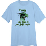 My Dragon ate your Sparkly Vampire Novelty T Shirt
