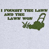 I Fought the Lawn Funny Novelty T Shirt Z11964