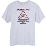Warning: Unusually High Levels of Awesome Funny Novelty T Shirt