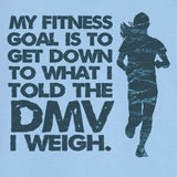 My Fitness Goal Funny Novelty T Shirt Z12570