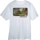 Monet-s-Park-Monceau-painting-Novelty-T-Shirt-White