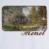 Monet's Park Monceau painting Novelty T Shirt Z12634