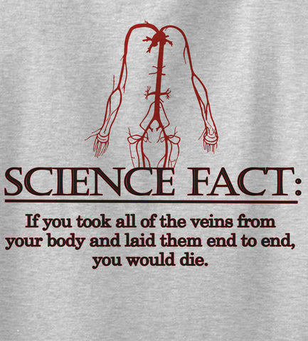 Science Fact Funny Novelty T Shirt Z12820