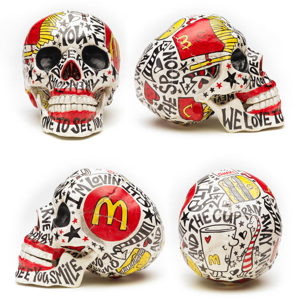 Mc Donald Art Skull
