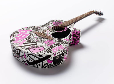 English Beat Guitar | Fine Art and Limited Edition Prints | The Art Of Nan Coffey