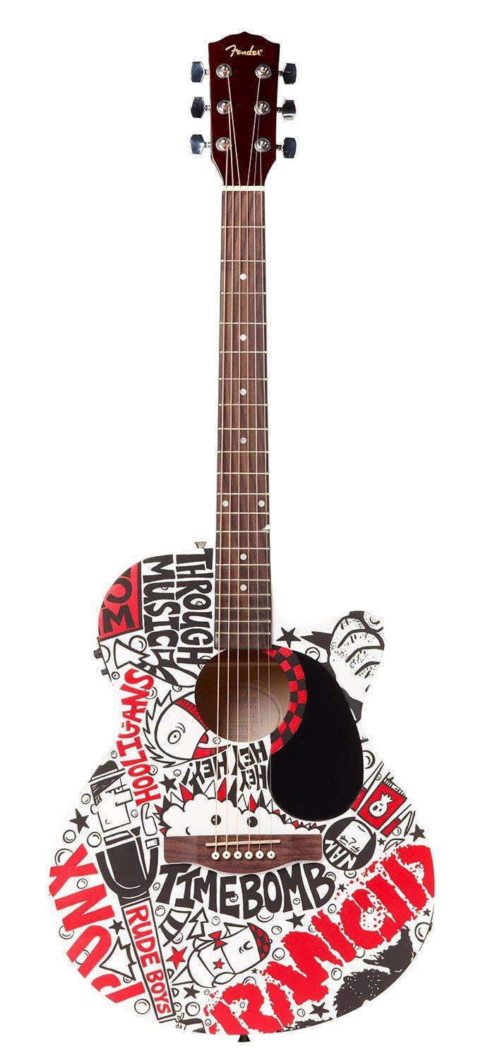 Rancid Guitar | Fine Art and Limited Edition Prints | The Art Of Nan Coffey