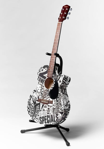 The Specials Guitar | Fine Art and Limited Edition Prints | The Art Of Nan Coffey