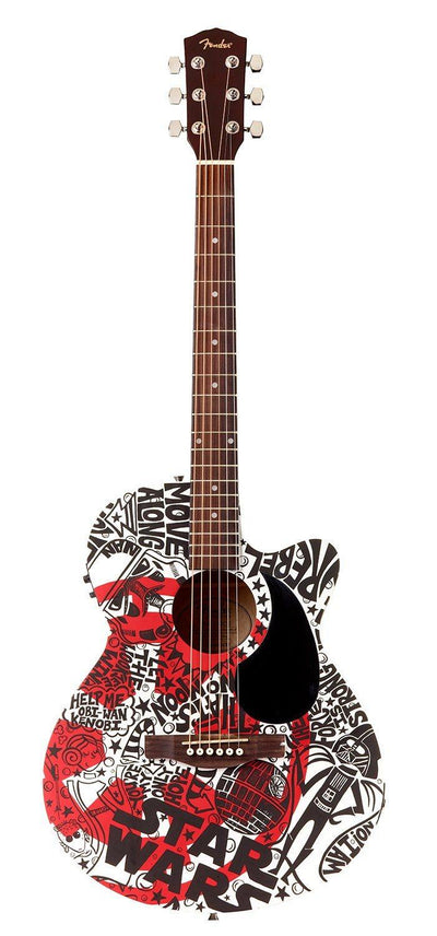 Star Wars Guitar | Fine Art and Limited Edition Prints | The Art Of Nan Coffey