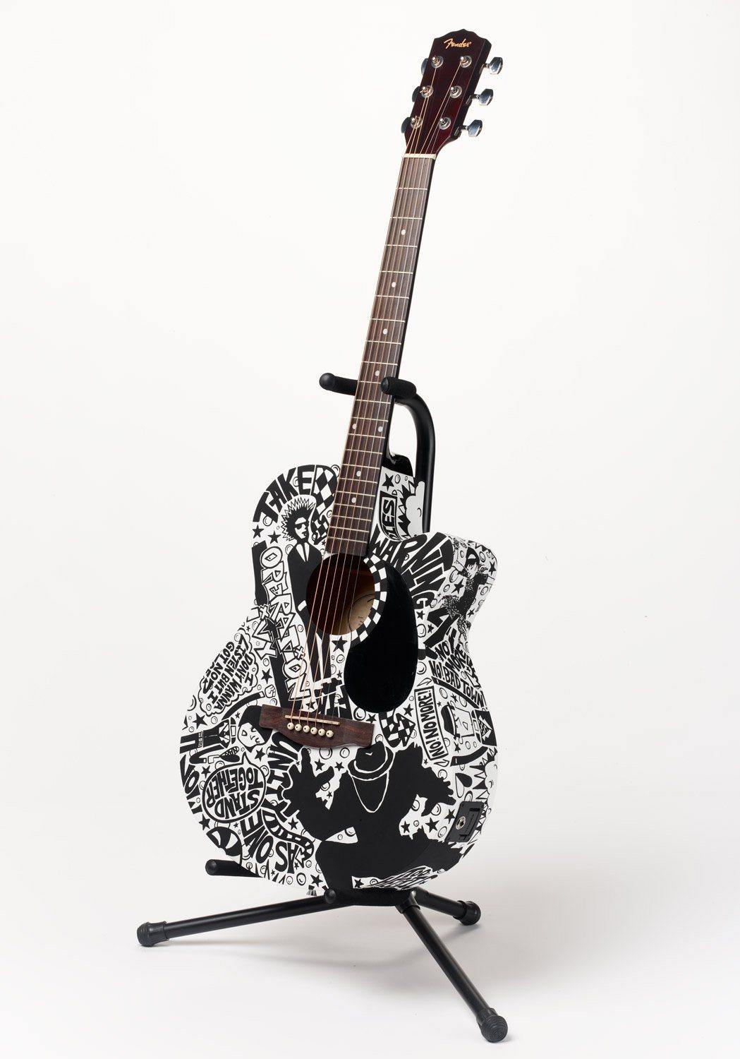 Operation Ivy Guitar | Fine Art and Limited Edition Prints | The Art Of Nan Coffey