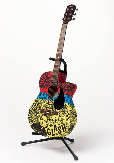 Clash Guitar | Fine Art and Limited Edition Prints | The Art Of Nan Coffey