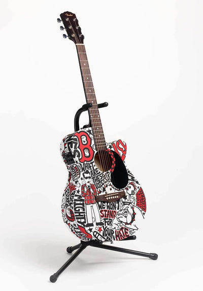 Mighty Mighty BossToneS Guitar | Fine Art and Limited Edition Prints | The Art Of Nan Coffey