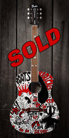 Let's Go! Rancid Guitar | Fine Art and Limited Edition Prints | The Art Of Nan Coffey