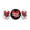 Button Pins | Choose Compassion Logo - The Art Of Nan Coffey