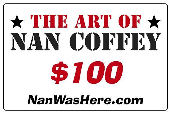 The Art Of Nan Coffey Gift Card | Fine Art and Limited Edition Prints | The Art Of Nan Coffey