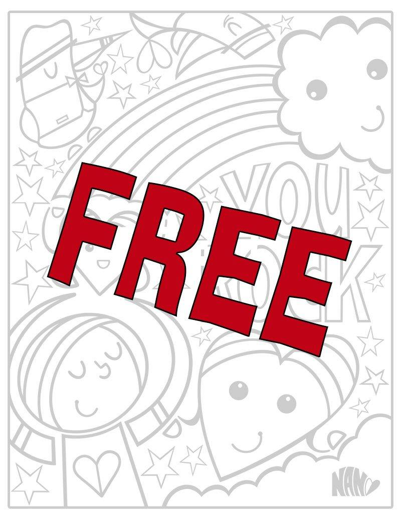 FREE Coloring Pages!