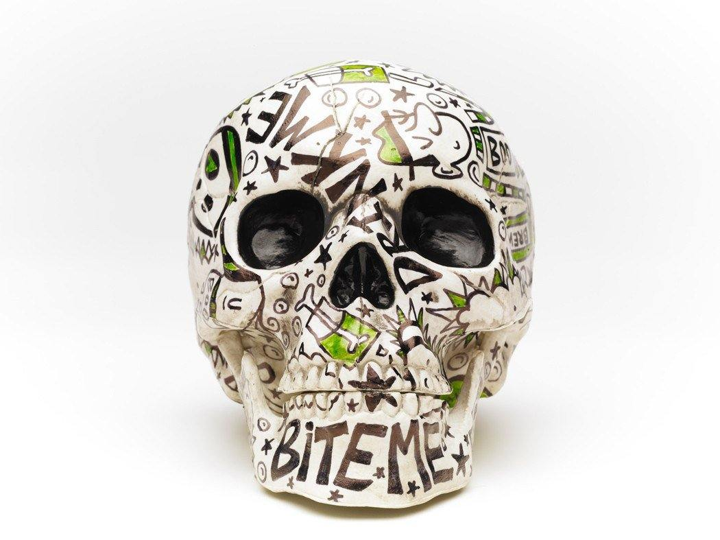 Skull | Voodoo | Art All Over | Fine Art and Limited Edition Prints | The Art Of Nan Coffey
