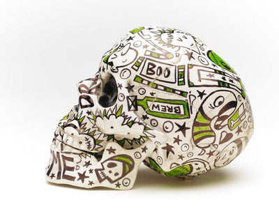 Skull | Voodoo | Art All Over - The Art Of Nan Coffey