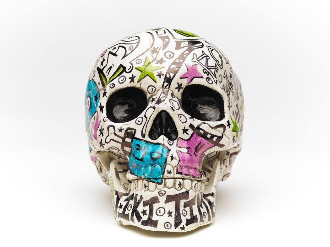 Skull | Tiki Bone Daddy | Art All Over - The Art Of Nan Coffey