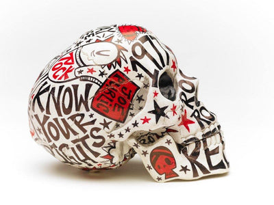 Skull | The Clash | Art All Over | Fine Art and Limited Edition Prints | The Art Of Nan Coffey