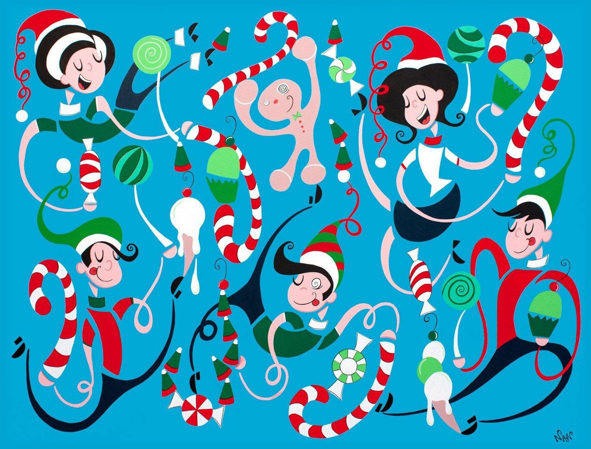 Ho Ho Ho | The Art and Fun Of Nan Coffey | NanWasHere