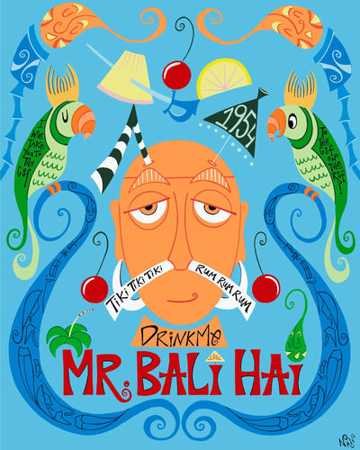 Official Mr. Bali Hai 60th Anniversary - Limited Edition