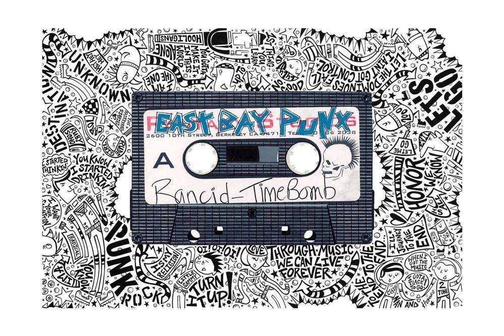 Timebomb - Horace Panter Collaboration | Fine Art and Limited Edition Prints | The Art Of Nan Coffey