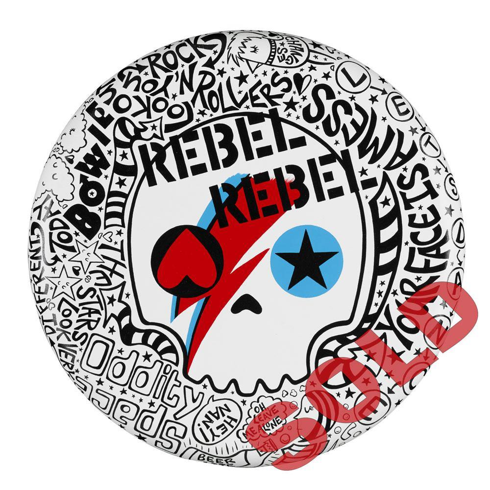"Rebel Rebel 20"" Round - Original 