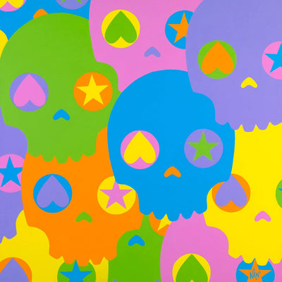 I Want Your Skulls - Original Painting