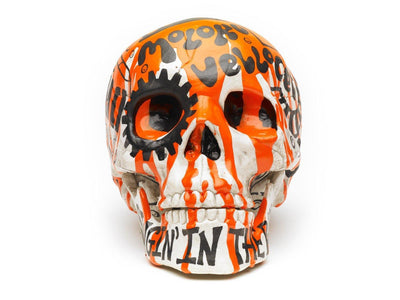Skull | Clockwork Orange | Art All Over | Fine Art and Limited Edition Prints | The Art Of Nan Coffey