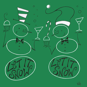Let It Snow | The Art and Fun Of Nan Coffey | NanWasHere