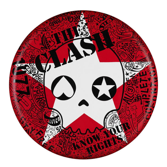 "The Clash 20"" Round - The Art Of Nan Coffey"