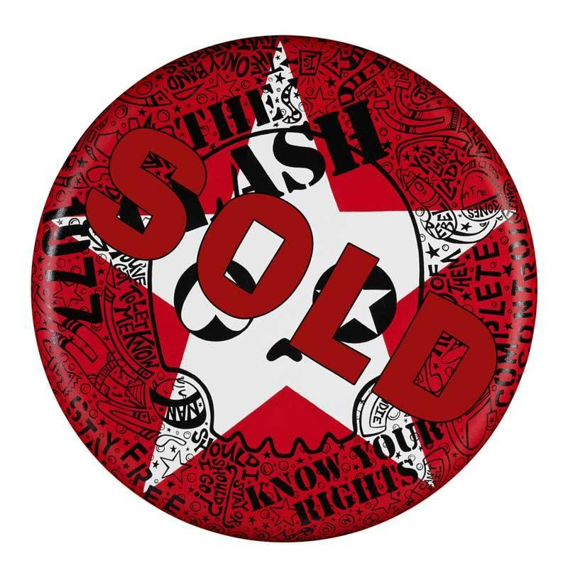 "The Clash 20"" Round - Original 