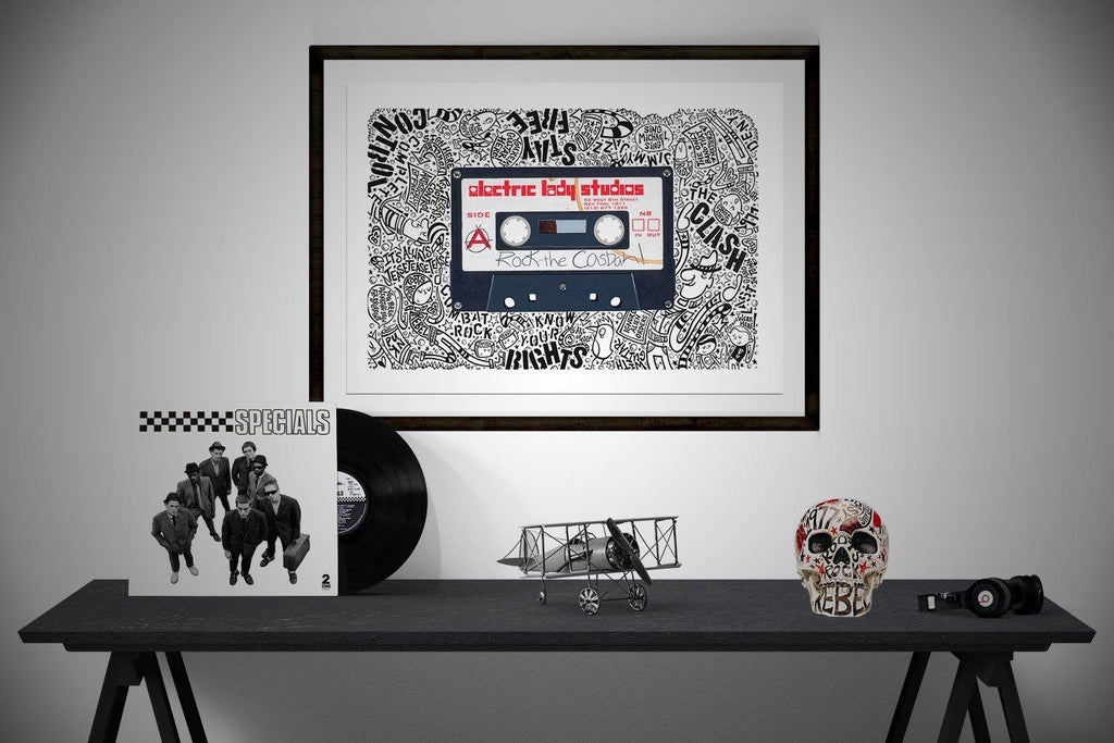 Rock The Casbah - Horace Panter Collaboration | The Art and Fun Of Nan Coffey | NanWasHere - 3