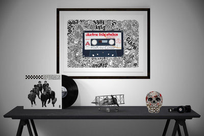 Rock The Casbah - Horace Panter Collaboration | Fine Art and Limited Edition Prints | The Art Of Nan Coffey
