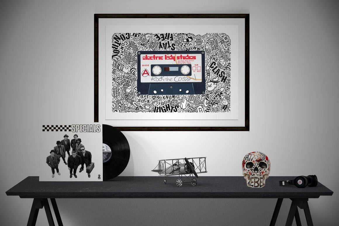 Rock The Casbah - Horace Panter Collaboration | The Art and Fun Of Nan Coffey | NanWasHere - 1