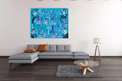 What Happens In Vegas - Original | Fine Art and Limited Edition Prints | The Art Of Nan Coffey