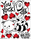 Sticker | You Rock! - The Art Of Nan Coffey
