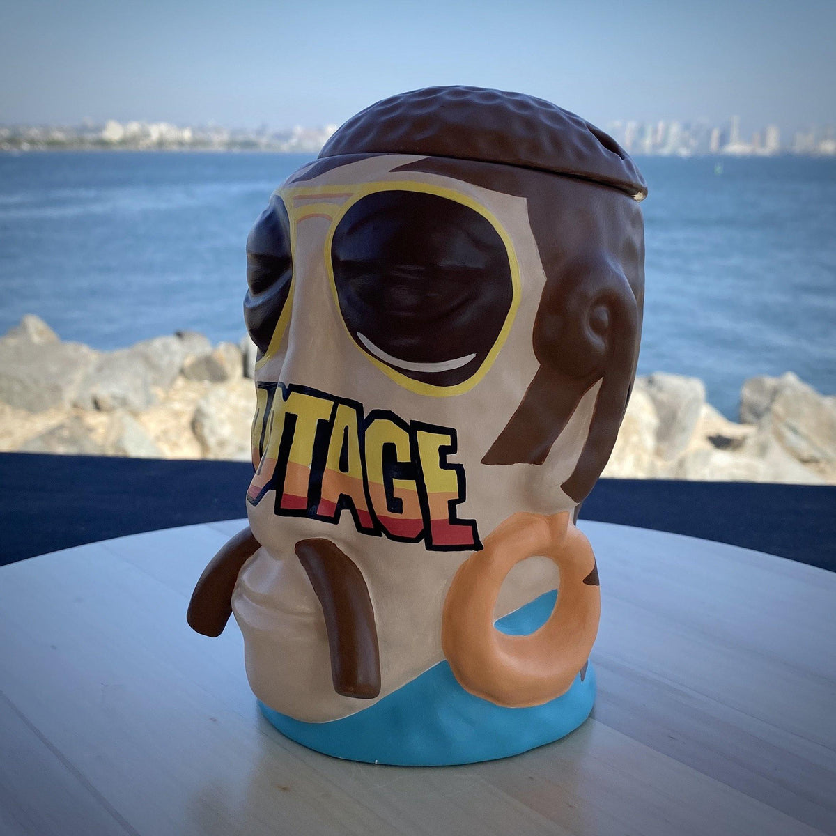 Nan-Painted  Sabotage x Mr. Bali Hai Ceramic Mug