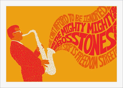 Hearts All Over Mighty Mighty BossTones - Full set of 12 prints