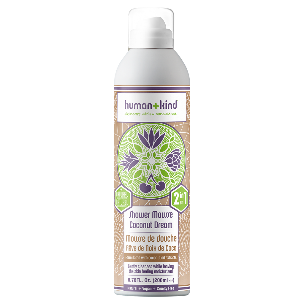 HUMAN +KIND COCONUT SHOWER MOUSSE