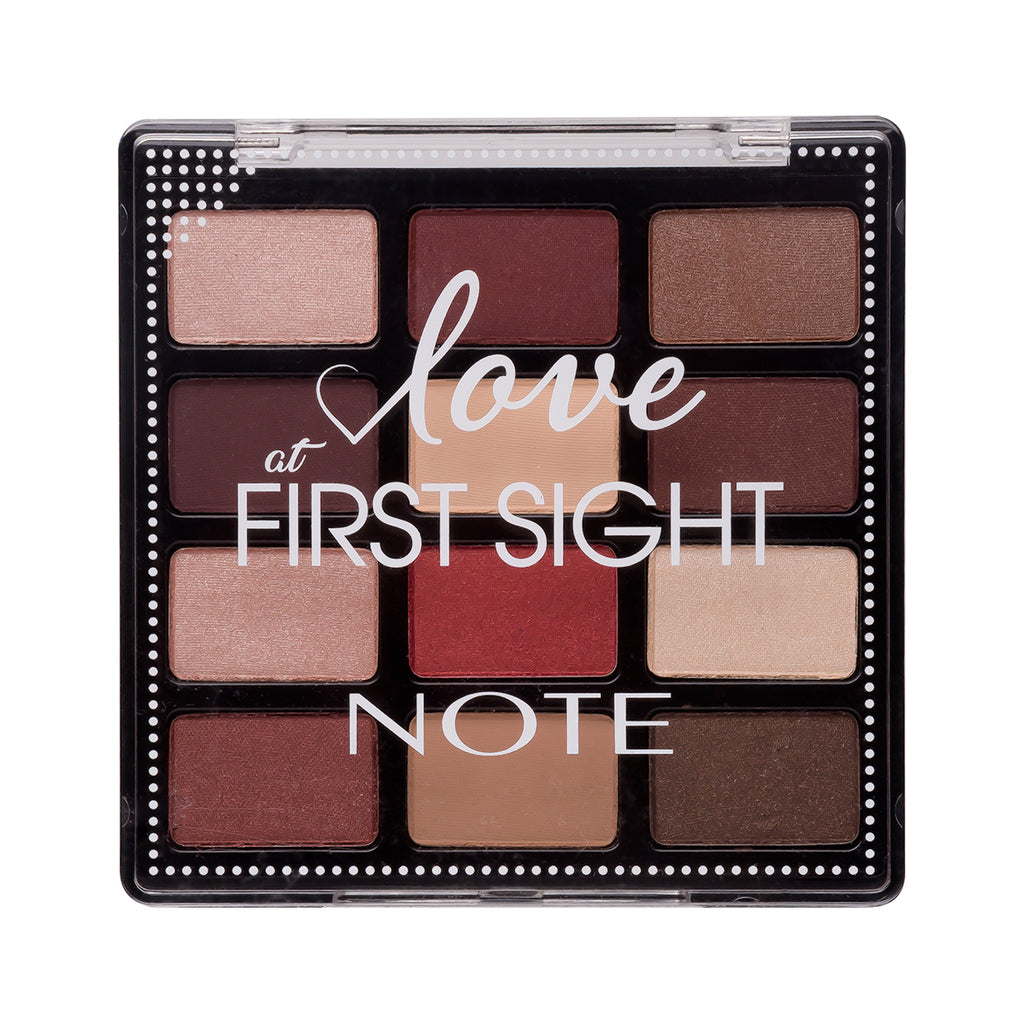 NOTE LOVE AT FIRST SIGHT EYESHADOW PALETTE