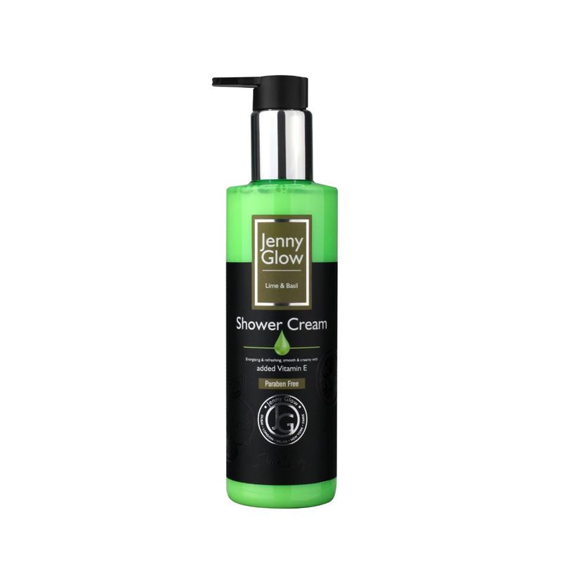JENNY GLOW LIME AND BASIL SHOWER CREAM