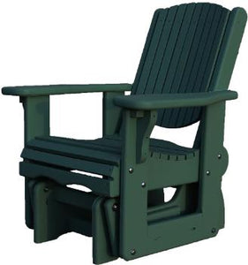 White Cedar Gliding Chair/Rocker
