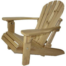 Load image into Gallery viewer, Cedar Folding Adirondack/Muskoka Chair