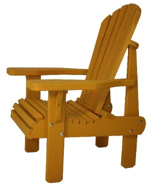 Cedar Adirondack/Muskoka High Chair
