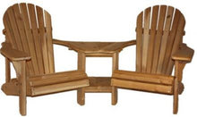 Load image into Gallery viewer, White Cedar Corner Double Chair