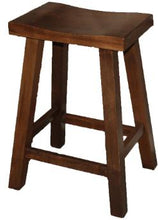 Load image into Gallery viewer, Handmade Maple Saddle Bar Stool Kits