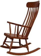 Load image into Gallery viewer, Solid Wood Boston Rocking Chair