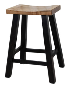 Handmade Maple Saddle Bar Stool Kits