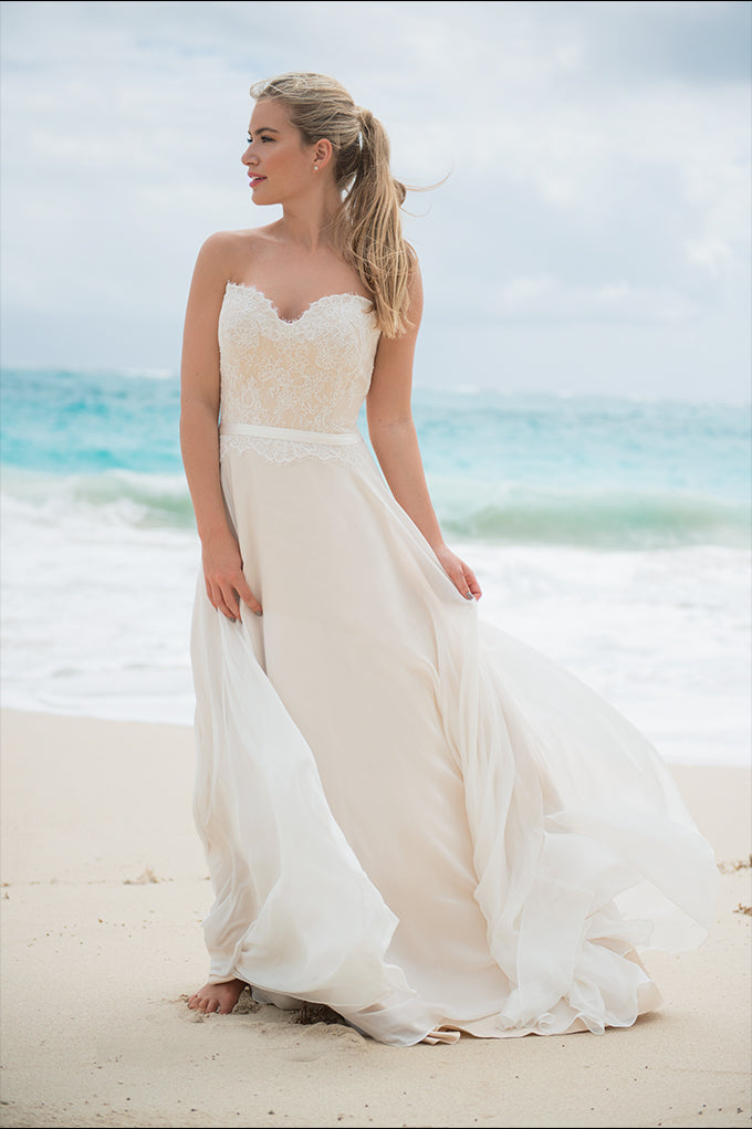 Angel Rose Bodice and Waterfall Skirt
